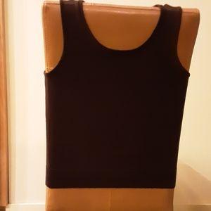 Talbots Sleeveless Sweater - Brown